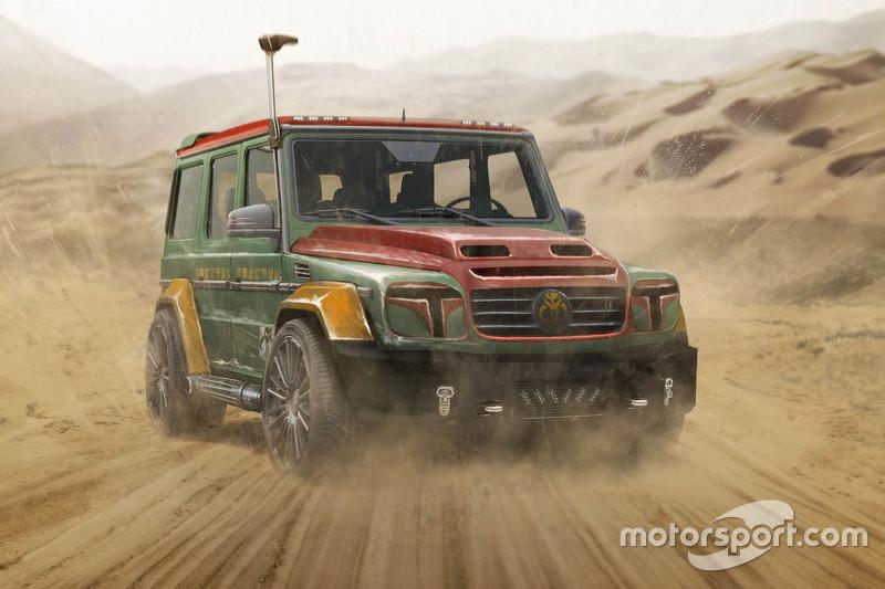 Boba Fett, Mercedes G-Wagen