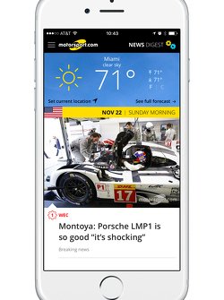 Motorsport.com New Digest App