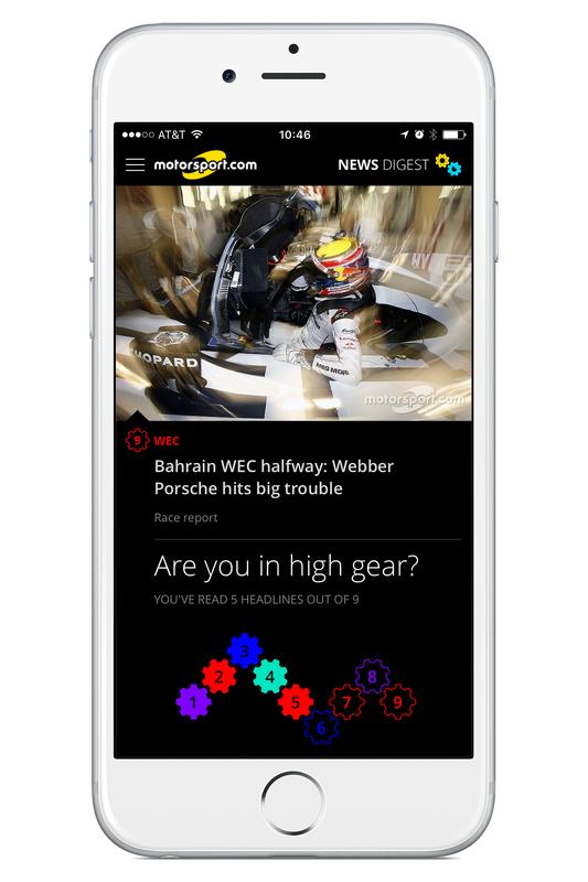 Motorsport.com New Digest app