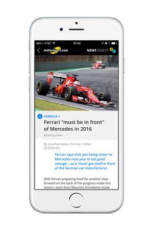 Motorsport.com app界面