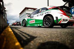 蒂亚戈·蒙特罗,本田Civic WTCC, 本田JAS车队