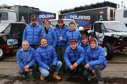 Команда Polaris Xtreme Plus во время проверки