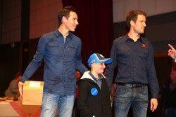 Julien Ingrassia et Sébastien Ogier avec Quentin
