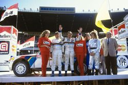 Third place Carlos Reutemann and Jean-François Fauchille, Peugeot 205 T17