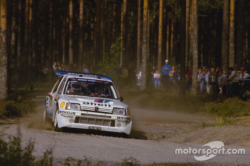 Timo Salonen dan Seppo Harjanne, Peugeot 205 T16