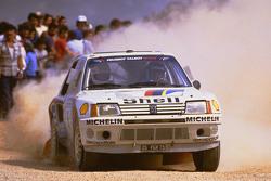 Timo Salonen y Seppo Harjanne, Peugeot 205 T16