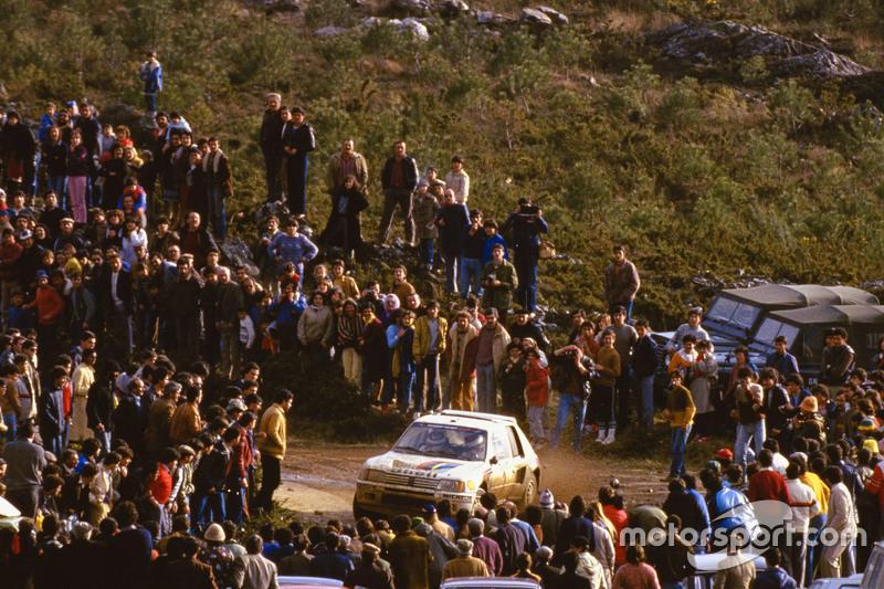 Peugeot (5 veces: 1985-1986, 2000-2002)