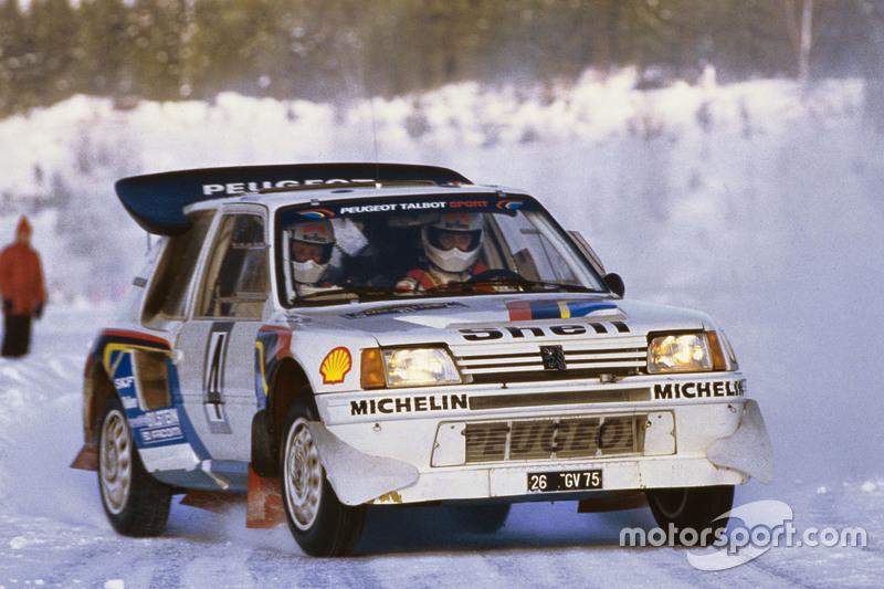 Ari Vatanen e Terry Harryman, Peugeot 205 T16