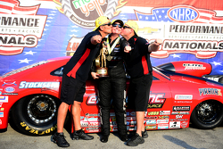Nick Ferri, Erica Enders and Jake Hairston