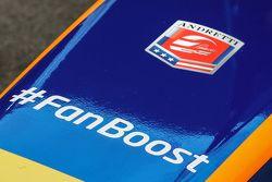 فريق أندريتي للفورمولا إي #FanBoost