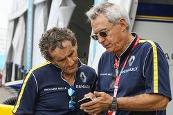 Alain Prost y Jean-Paul Driot, Renault e.Dams team dueños