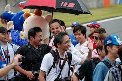 Ma Qing Hua, Citroën World Touring Car team and Yvan Muller, Citroën World Touring Car team