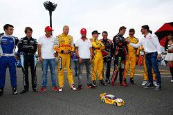 Tom Coronel, ROAL Motorsport, Tiago Monteiro, Honda Racing Team JAS, Rob Huff, Lada Sport Rosneft, T