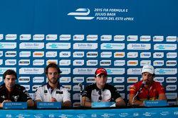 ePrix di Punta del Este, conferenza stampa