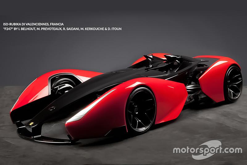 تصميم «إف247» من المعهد العالي للتصميم روبيكا دو فالونسيين، فرنسا