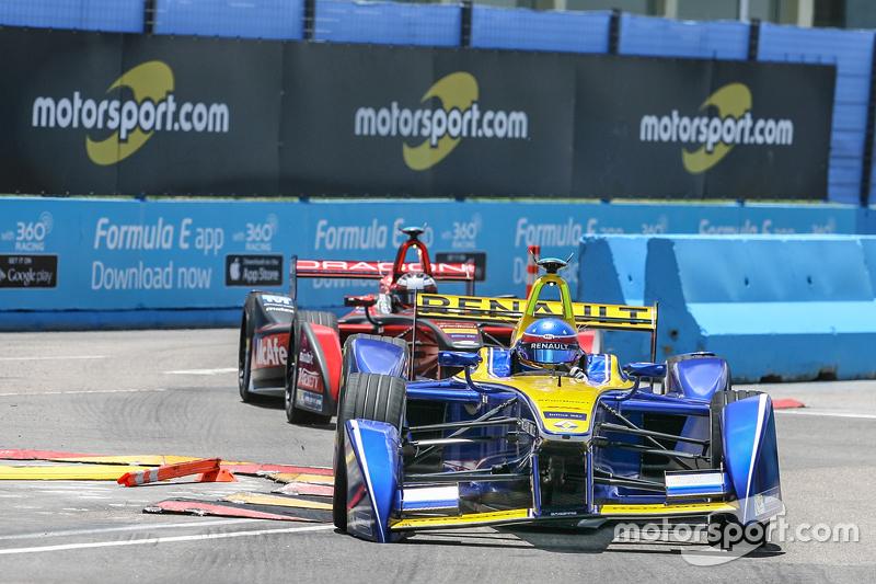 Nicolas Prost e Jerome D'Ambrosio disputam posição
