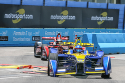 Nicolas Prost, Renault e.Dams and Jerome d'Ambrosio, Dragon Racing