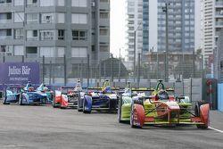 Daniel Abt, ABT Schaeffler Audi Sport, Nicolas Prost, Renault e.Dams, Oliver Rowland, Mahindra Racin