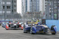 Nicolas Prost, Renault e.Dams and Oliver Rowland, Mahindra Racing Formula E Team