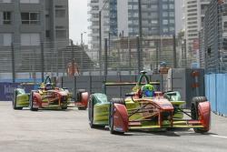 Lucas di Grassi, ABT Schaeffler Audi Sport and Daniel Abt, ABT Schaeffler Audi Sport