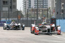 Bruno Senna, Mahindra Racing Formula E Team and Antonio Felix da Costa, Team Aguri