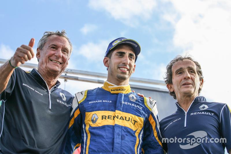 Jean-Paul Driot, Sébastien Buemi e Alain Prost