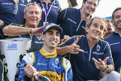 Winnaar Sébastien Buemi en Renault e.Dams