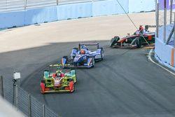 Daniel Abt, ABT Schaeffler Audi Sport en Robin Frijns, Amlin Andretti Formula E en Stéphane Sarrazin