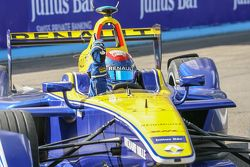 Race winnaar Sébastien Buemi, Renault e.Dams