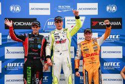 Hugo Valente, Campos Racing, Tom Chilton, ROAL Motorsport and Tom Coronel, ROAL Motorsport