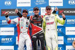 Norbert Michelisz, Zengo Motorsport, Mehdi Bennani, Sébastien Loeb Racing and Hugo Valente, Campos Racing
