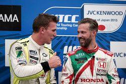 Hugo Valente, Campos Racing and Tiago Monteiro, Honda Racing Team JAS