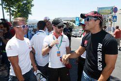 Sébastien Loeb, Citroën World Touring Car team, Tiago Monteiro, Honda Racing Team JAS and Stefano D'