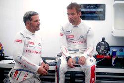 Yvan Muller, tim Citroën World Touring Car , dan Sébastien Loeb, tim Citroën World Touring Car