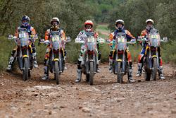Antoine Meo, Jordi Viladoms, Laia Sanz, Toby Price, Matthias Walkner
