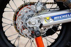 KTM 450 Ralli detayı