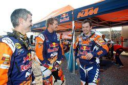 Jordi Viladoms, Toby Price, Matthias Walkner