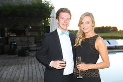 Oliver Turvey, NEXTEV TCR Formula E Team with charming friend