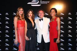 Alejandro Agag, CEO Formula E with model Alessandra Ambrosio