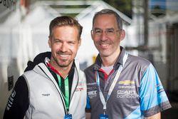 Tiago Monteiro, Honda Racing Team JAS and Alain Menu
