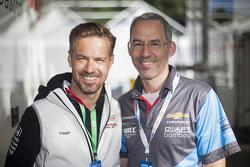 Tiago Monteiro, Honda Racing Team JAS y Alain Menu
