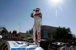 Polesitter Jose Maria Lopez, Citroën C-Elysee WTCC, Citroën World Touring Car team