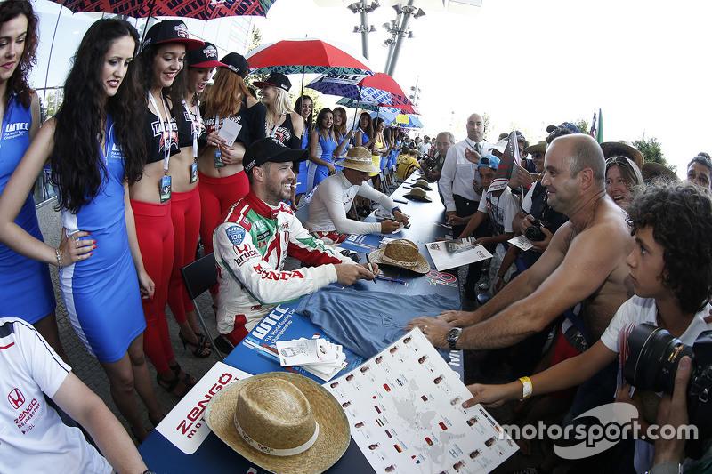 Tiago Monteiro, Honda Racing Team JAS