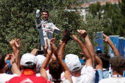 El ganador de la carrera, José María López, Citroën World Touring Car team