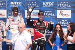 Podium: third place Norbert Michelisz, Zengo Motorsport