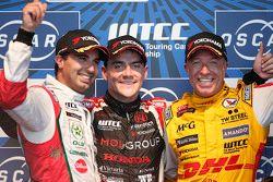 Mehdi Bennani, Sébastien Loeb Racing, Norbert Michelisz, Zengo Motorsport and Tom Coronel, ROAL Moto