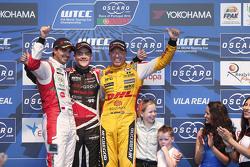 Mehdi Bennani, Sébastien Loeb Racing, Norbert Michelisz, Zengo Motorsport, dan Tom Coronel, ROAL Mot