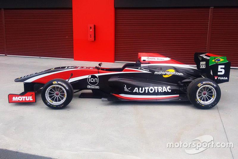 Педро Піке's Toyota Racing Series ліврея