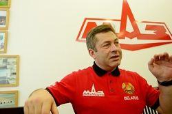 Валерий Козловский, начальник команды