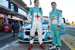 Dr. Dino Altmann e Rubens Barrichello